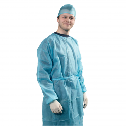 Isolation gown, sterile