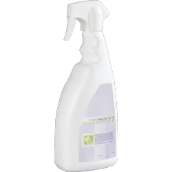 Disinfection of all surfaces